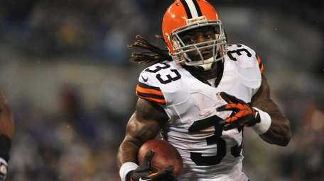 Trent Richardson, the third overall pick in the