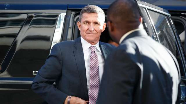 Former national security adviser Michael Flynn in 2018.