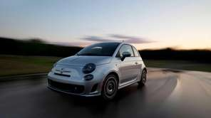 The new Fiat 500 Turbo was among the