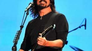 Foo Fighters' Dave Grohl performs at the Global