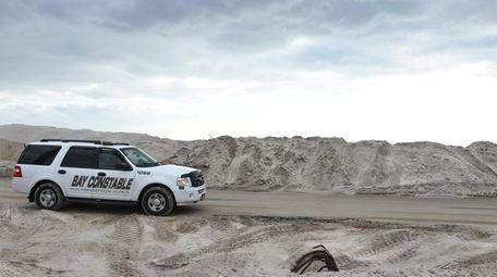 Storms last fall overwhelmed Dune Road in Hampton