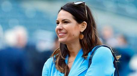 "Jessica Mendoza of ESPN's ""Sunday Night Baseball"" and"