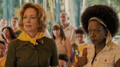 Allison Janney and Viola Davis in Amazon Studios'
