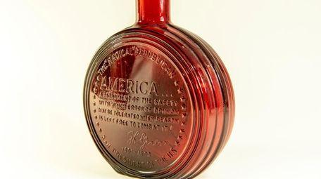A Modern Bicentennial flask from 1976 bearing the