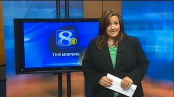Anchorwoman Jennifer Livingston of WKBT-TV in La Crosse,