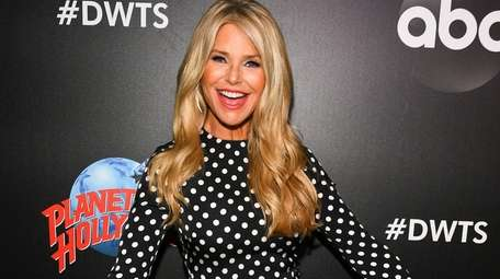 """Christie Brinkley attends the """"Dancing with the Stars"""""""