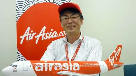 AirAsia Japan president Kazuyuki Iwakata explains the new-to-Japan