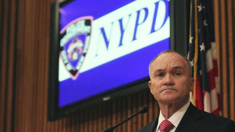 NYPD Commissioner Ray Kelly said the evidence
