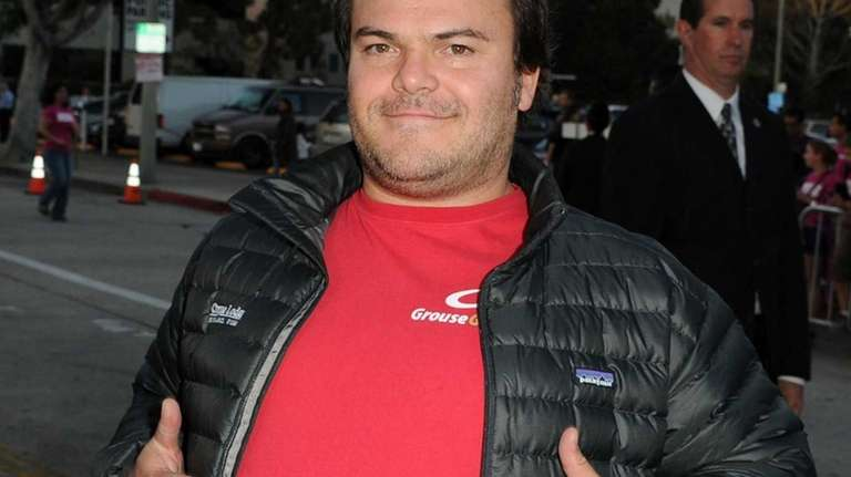 Actor Jack Black attends the Premiere Of Universal
