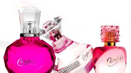 Candie's Luscious, Signature and Coated fragrances.