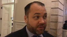 New York City Council Speaker Corey Johnson, a