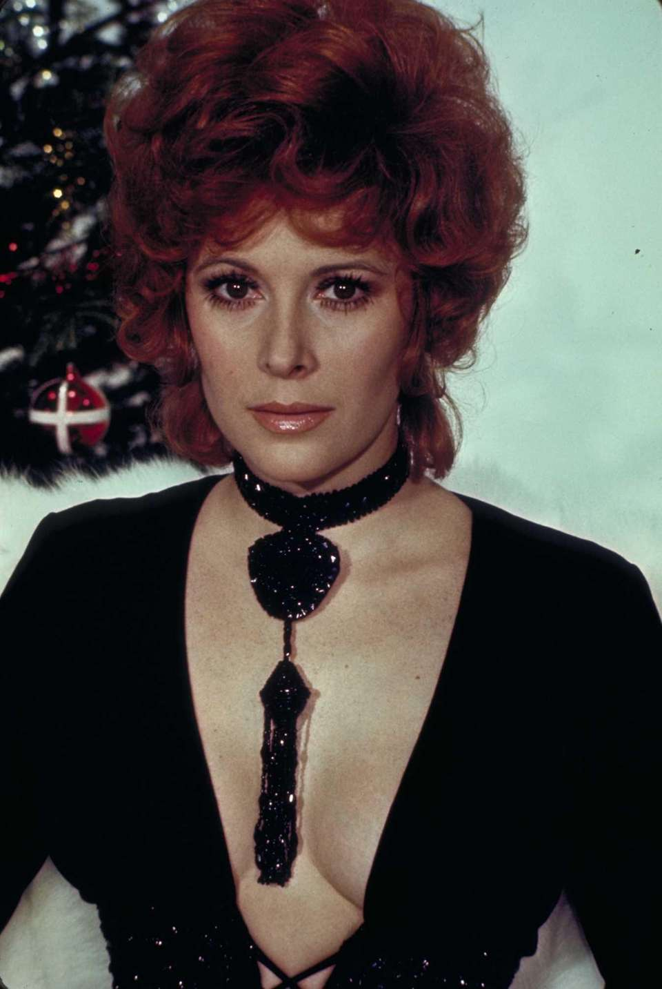 Jill St. John is shown in the James