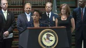 U.S. Attorney Loretta Lynch is shown in this