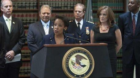U.S. Attorney Loretta Lynch is shown in this