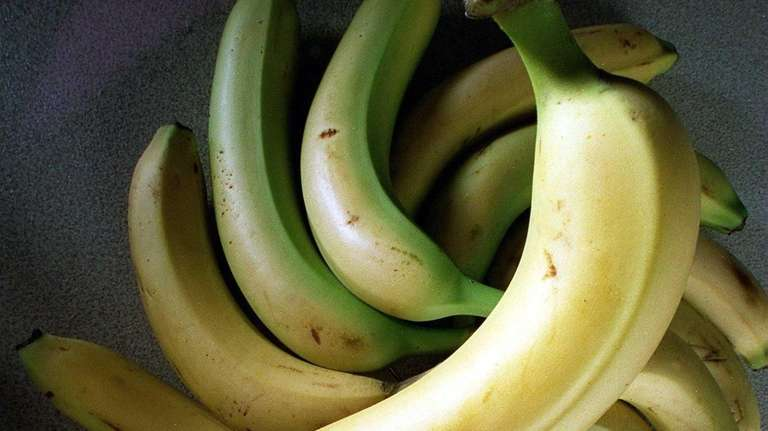 Bananas are among the few fruits that ripen