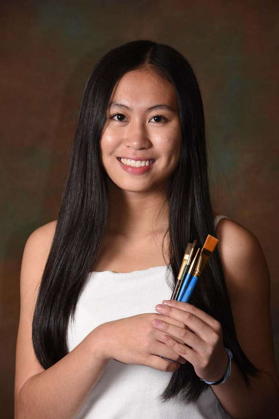 Syosset High School senior Ti­ffany Wu sees her