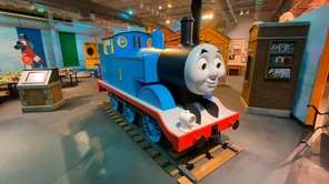 "A traveling ""Thomas & Friends"" exhibit has come"