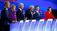 Health care was part of the Democratic presidential