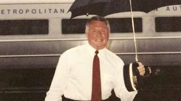 Richard Brzozinski, a veteran Long Island Rail Road