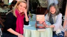 Reese Witherspoon, left, and Delia Owens, author of