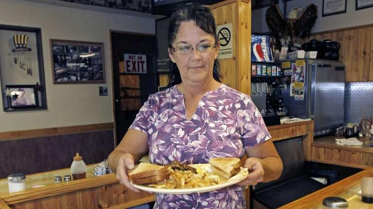Millie Brown, a cook and waitress at Buch's