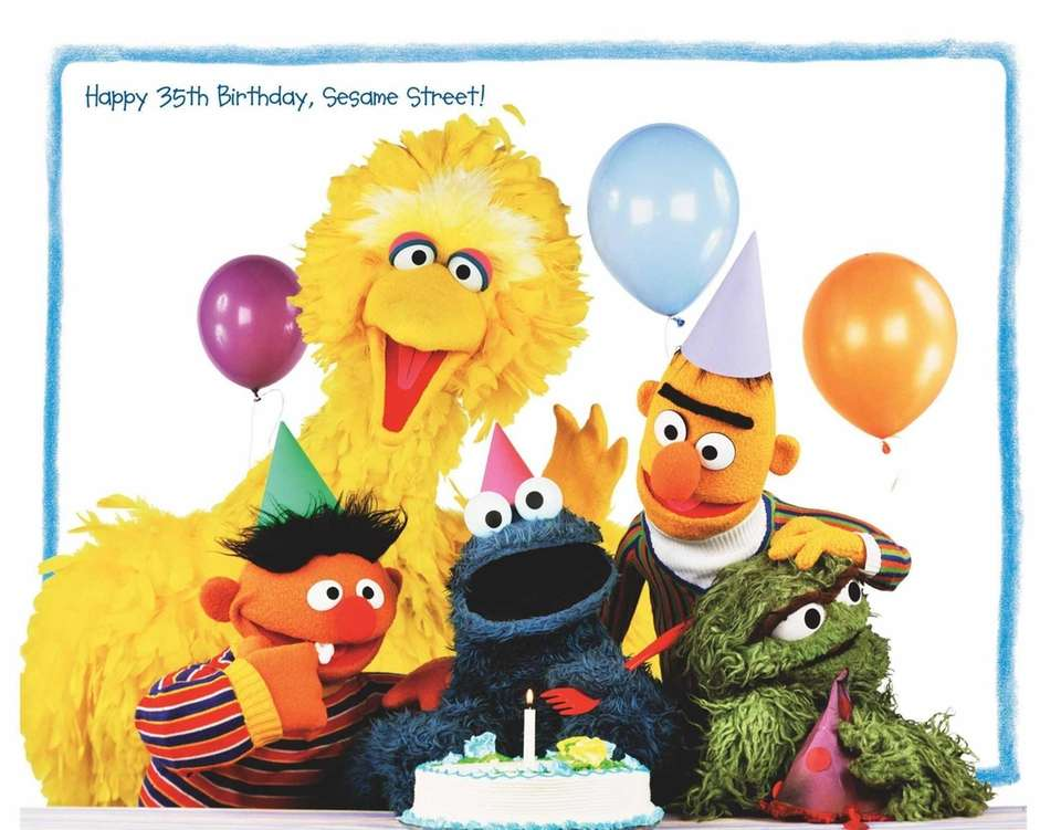 "The 35th birthday party for ""Sesame Street"