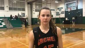 Sachem East junior point guard Mackenzie Szlosek discussed