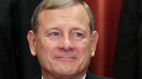 Supreme Court Chief Justice John Roberts on Nov.