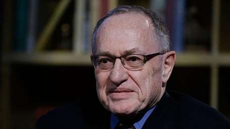 Alan Dershowitz in 2016.