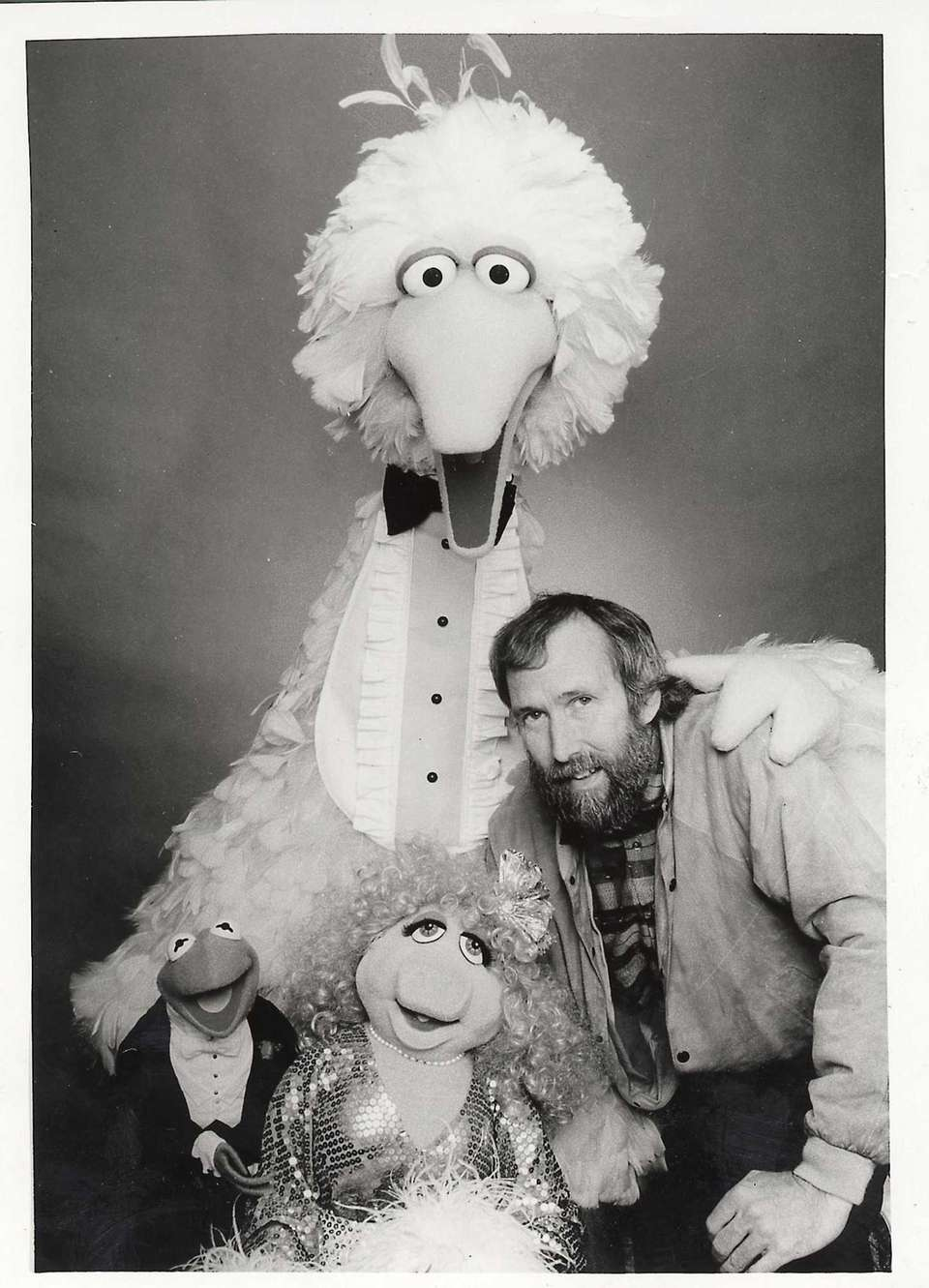Jim Henson and some of his famous creations