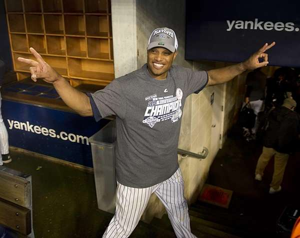 Robinson Cano leaves the field with a big