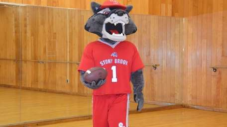 Tryouts for the newest Wolfie, Stony Brook University's