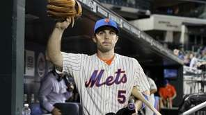 David Wright of the New York Mets waves