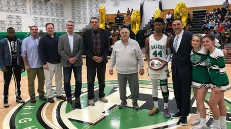 The six 1000-point scorers in Farmingdale history, from