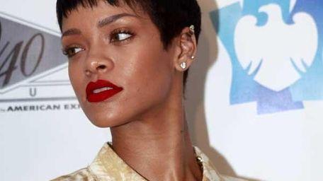 Rihanna at Barclays Center