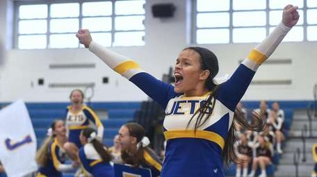 Sofia Molina of East Meadow performs during a