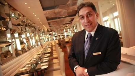 Nasser Samman, in the Allegria Hotel's restaurant, took