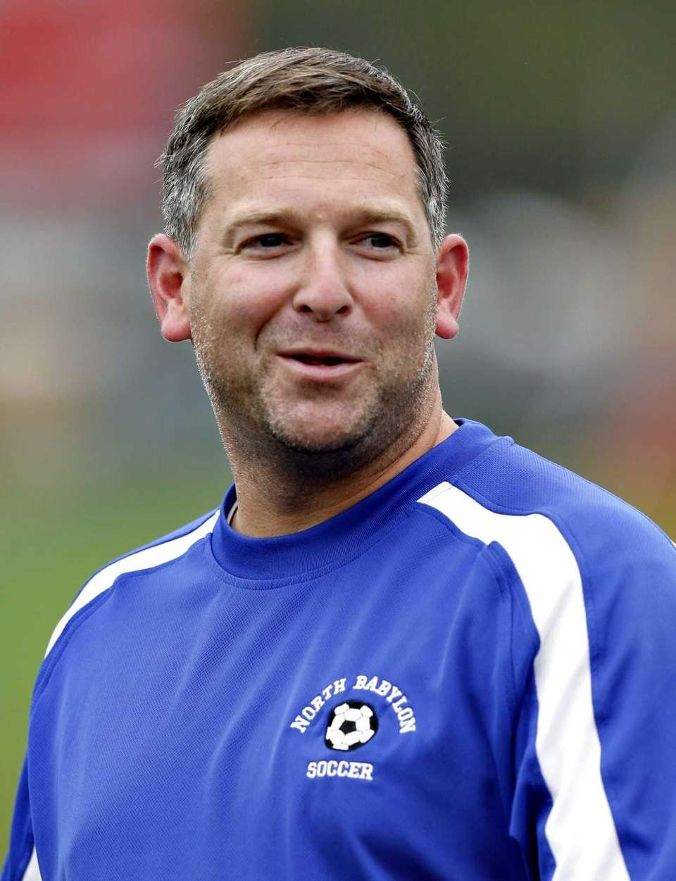 North Babylon girls varsity soccer head coach Steve