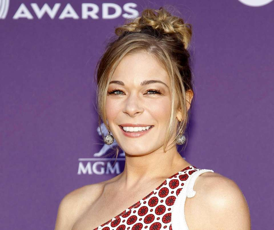 Country singer LeAnn Rimes checked herself in to