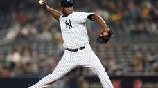 Rafael Soriano delivers a pitch during a game