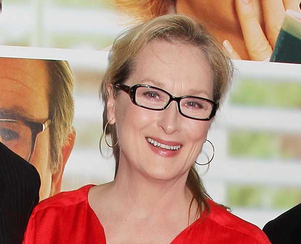 Meryl Streep attends premiere of the Columbia Pictures