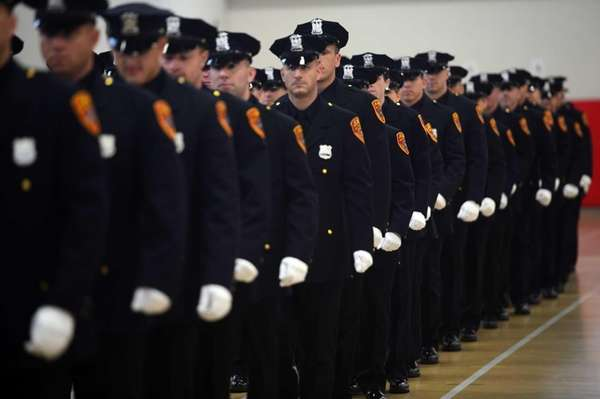 Graduation ceremonies for 57 Suffolk County Police Officers