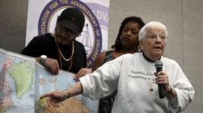 Jane Elliott, a former teacher who gained fame