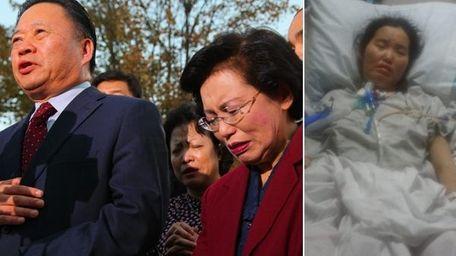 The parents of Grace Sung Eun Lee, Man