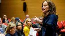 Rep. Kathleen Rice held a public meeting Sunday