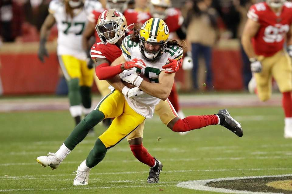 Green Bay Packers wide receiver Jake Kumerow is