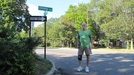 Richard Birnbaum at Olney Way and Stony Brook