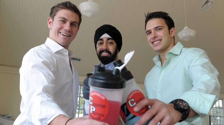 Campus Protein executives started their company while in