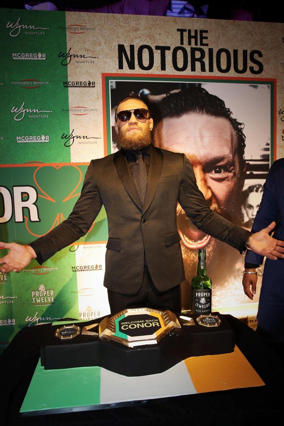Conor McGregor continued his Las Vegas residency with