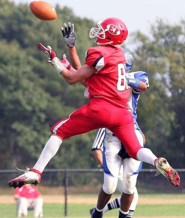 48-yard second quarter touchdown catch by East Islip's